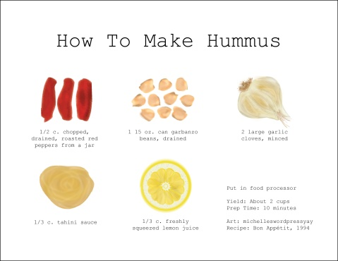 how to make hummus WP