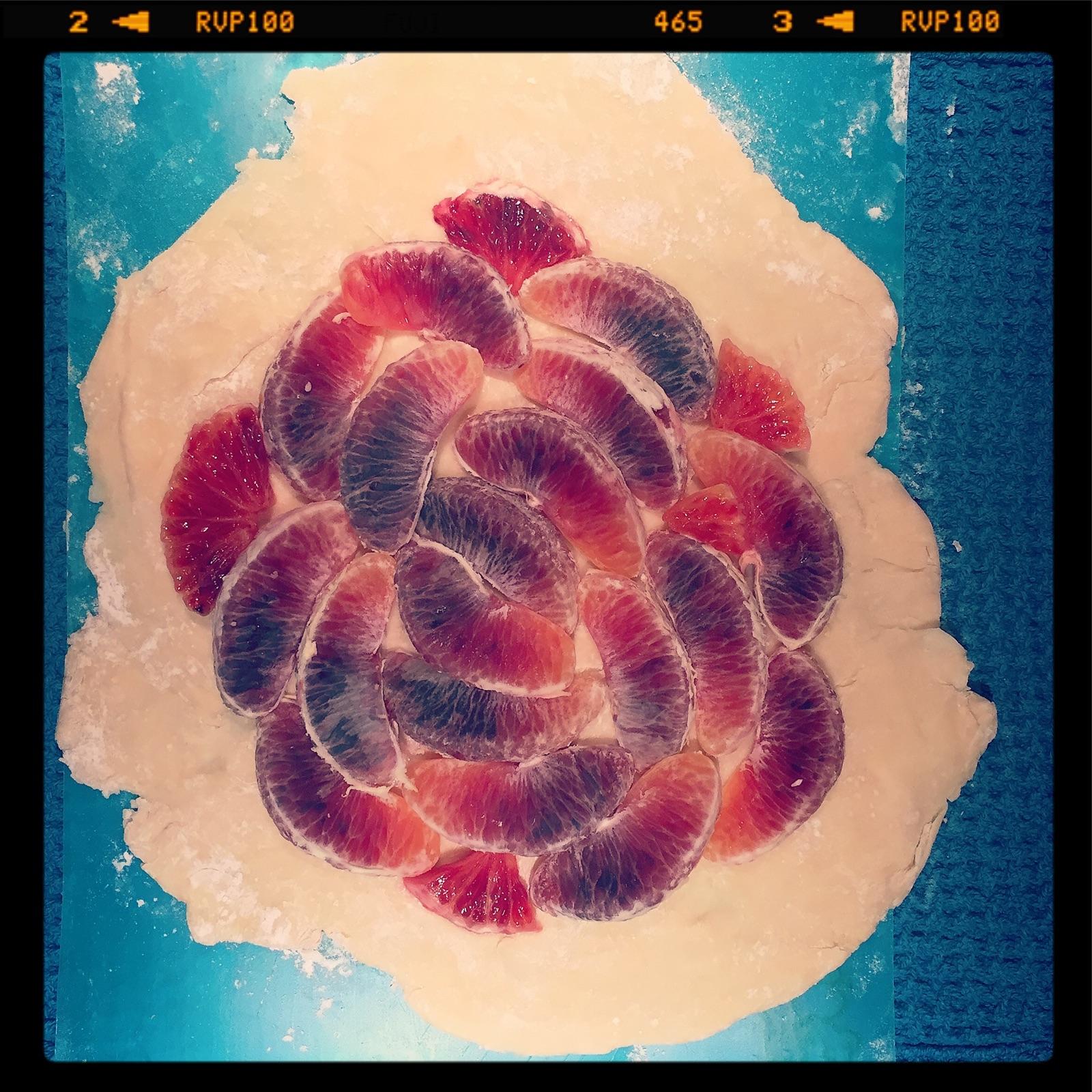 Flaky Blood Orange Tart Recipe | michelleswordpressyay